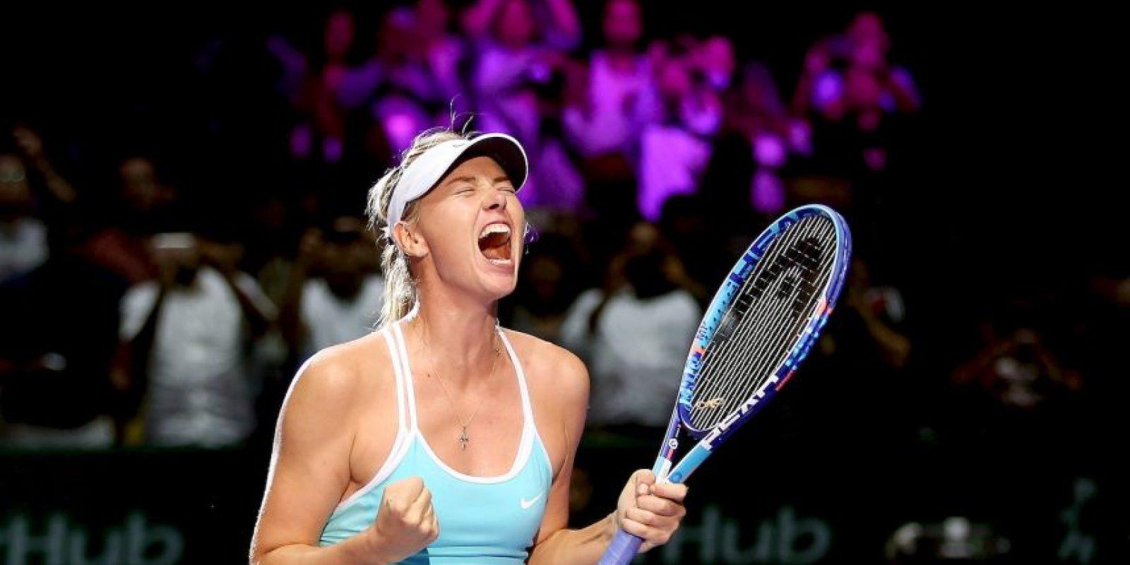 6. La pasión que entregaba en cada torneo Foto:Getty Images