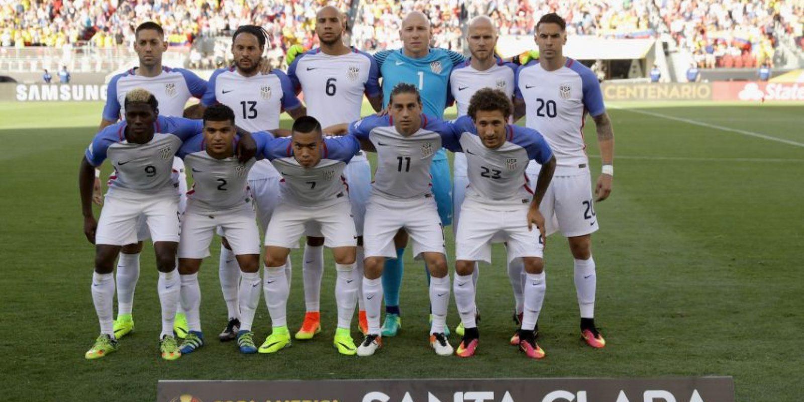 Estados Unidos vs. Costa Rica, en la segunda fecha de la Copa América Centenario Foto:Getty Images