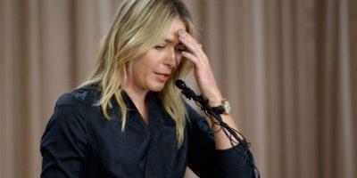Maria Sharapova fue suspendida dos años por dar positivo de meldonium Foto:Getty Images