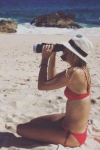 3. Sus bikinis en la playa Foto:Vía instagram.com/mariasharapova