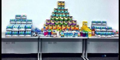 Elproducto que más se necesita, además de los medicamentos, es la fórmula para alimentar a los pequeños. Foto:comparteporunavida.com