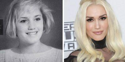 Gwen Stefani Nadie se imaginaría que esa inocente pequeña se convertiría en la sensual y destacada mujer, quien después de pertenecer a la banda No Doubt se lazó como solista teniendo gran éxito.
