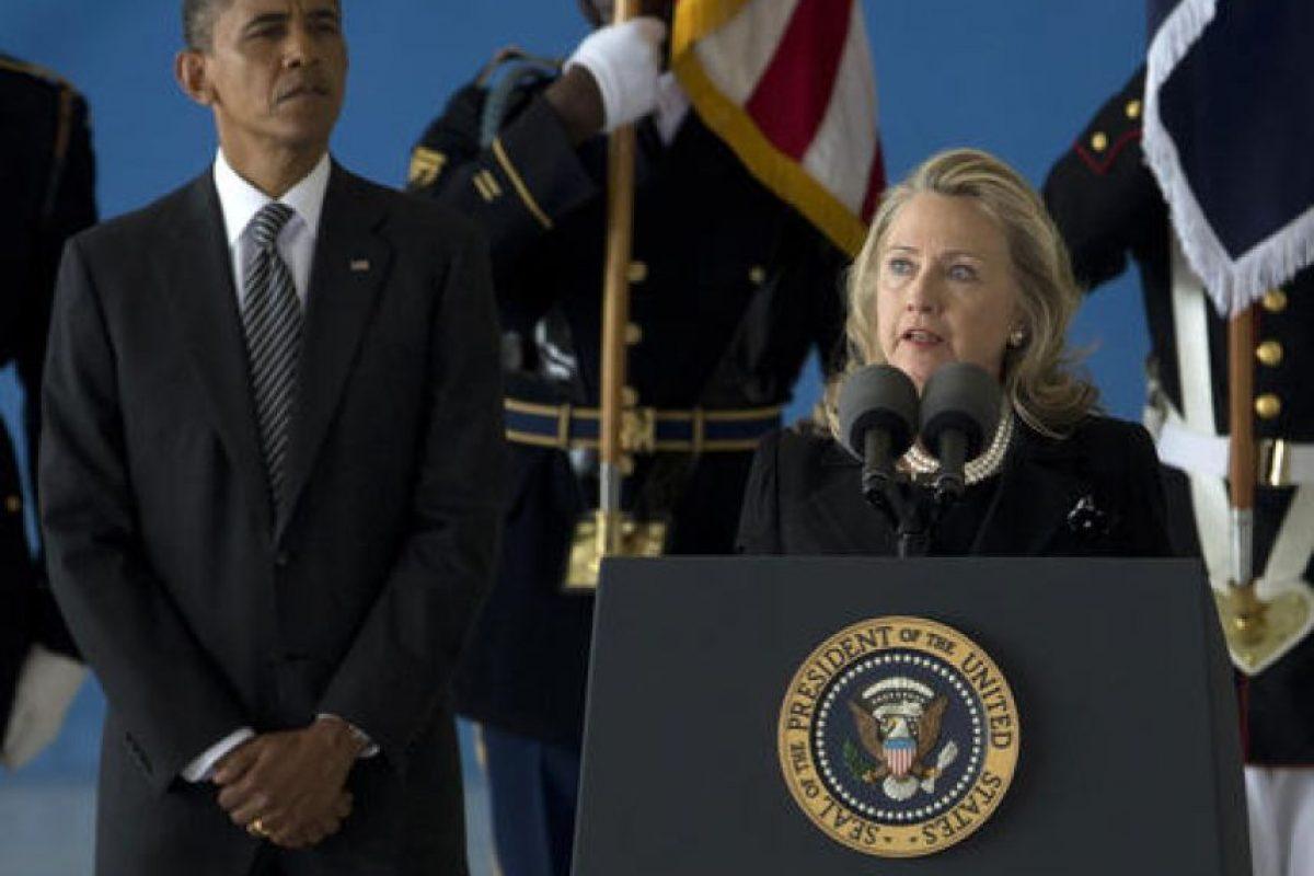 Luego de que Obama fuera reelegido en 2009, Clinton se volvió Secretaria de su administración. Foto:AP
