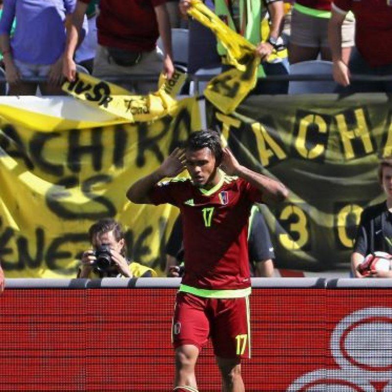 Venezuela, por su parte, quiere asegurar un cupo en cuartos de final tras en su primer encuentro a Jamaica. Una victoria los dejaría bien aspectados en su misión Foto:Getty Images