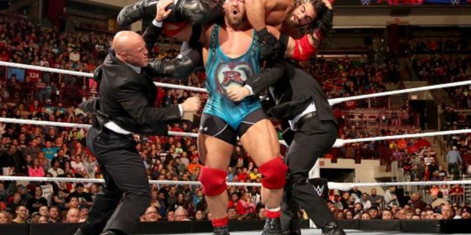 Rollins aseguró que Ryback es el luchador que más fuerte golpea en la empresa Foto:WWE