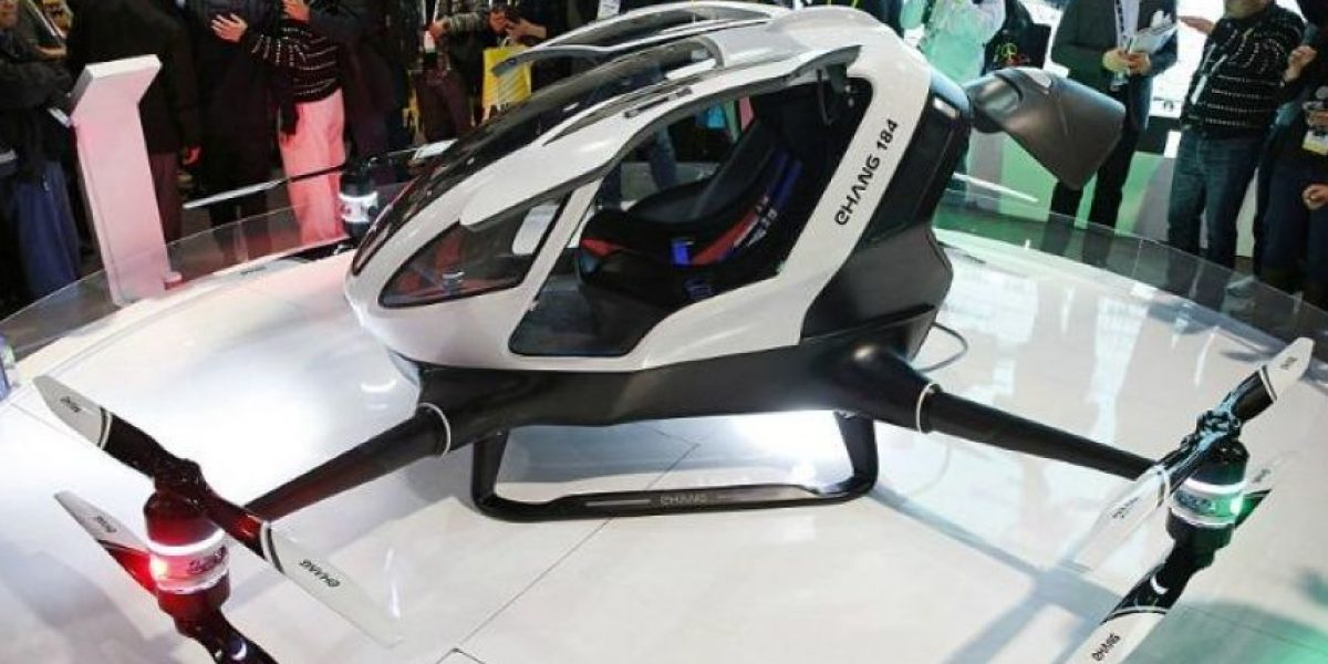 Un taxi dron capaz de transportar personas