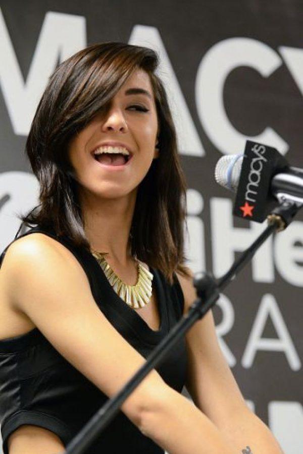 """Participó en la sexta edición de """"The Voice"""" Foto:Getty Images"""