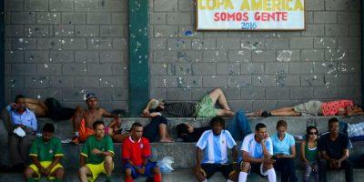 En Medellín, Colombia, también tienen su propia Copa América. Foto:AFP