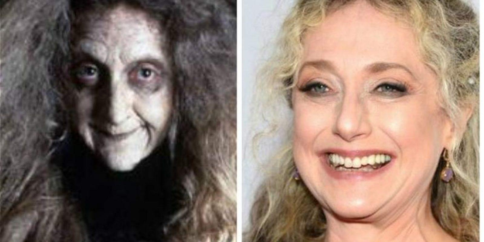 Carol Kane era la abuela de la familia Addams. La actriz tiene 63 años y participó recientemente en la serie de televisión 'Go