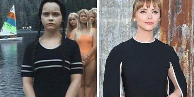 """Christina Ricci interpretaba a Merlina Addams. La actriz de 35 años ha participado en películas como 'Casper', 'La maldición' y 'Lizzi""""."""