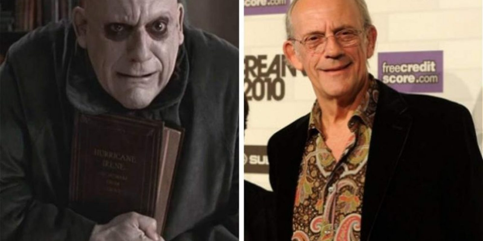 Christopher Lloyd interpretó al 'tío Lucas'.