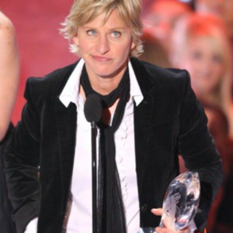 Ellen DeGeneres se declaró abiertamente gay en televisión. Desde ahí es activista. Foto:vía Getty Images