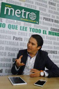 Jorge Vélez, coordinador de Desarrollo Sostenible de la Prefectura del Guayas.