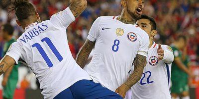 Chile, por su parte, viene de caer en la primera fecha ante Argentina y luego venció a Bolivia, con lo que acumulan los mismos tres puntos que Panamá. Sin embargo, a la Roja le basta un empate con los centroamericanos para avanzar, ya que tienen mejor diferencia de gol Foto:Getty Images