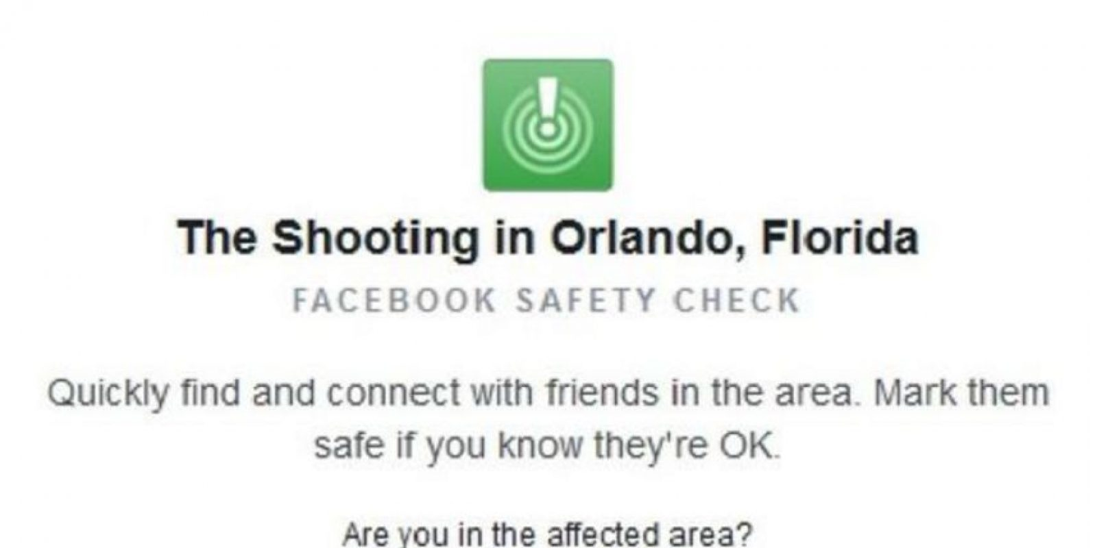 """""""Al despertar esta mañana, me quedé horrorizado al oír sobre el tiroteo en Orlando. Mis pensamientos y oraciones están con las víctimas, sus familias y la comunidad LGBT"""", mencionó el CEO de la red social. Foto:Facebook"""