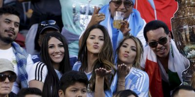 Las fanáticas más guapas de la fase de grupos de la Copa América Centenario 2016 Foto:Getty Images