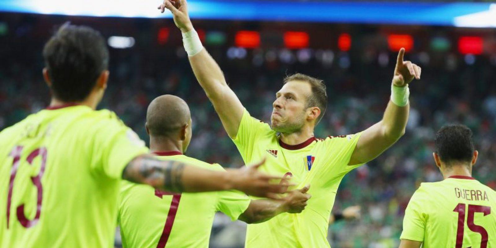 Venezuela confía en su nueva generación para seguir avanzando en la Copa América Centenario Foto:Getty Images
