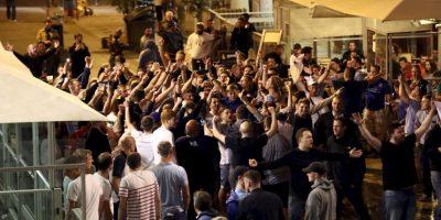 Los hooligans están dando la nota baja de la Eurocopa Foto:Getty Images