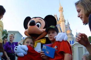 La familia viajo desde Nebraska para pasar un tiempo en el Grand Floridian Resort & Spa de Disney World. Foto:Getty Images