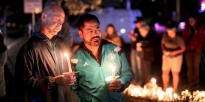 Hay homenajes tanto en el espacio público como en el virtual. Foto:AFP
