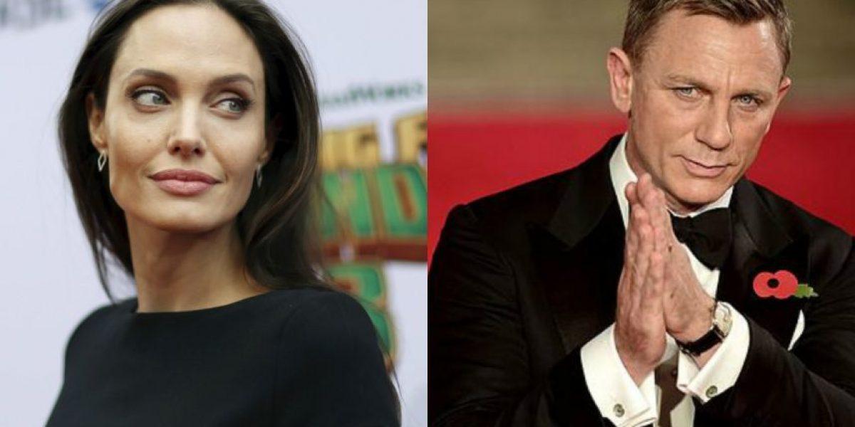 Angelina Jolie sería infiel a Pitt con Daniel Craig