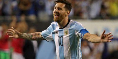 El argentino ha descansado en la fase de grupos, pero en los minutos que jugó se dio mañana de hacerle un triplete a Panamá Foto:Getty Images