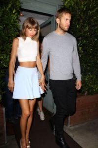 Taylor y su ex novio Calvin Harris Foto:Grosby Group