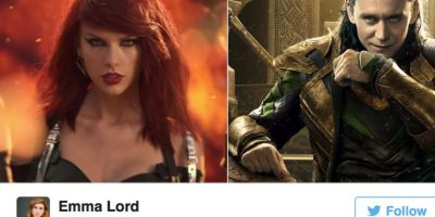 "Loki y Taylor de ""Bad Blood"" Foto: Twitter"