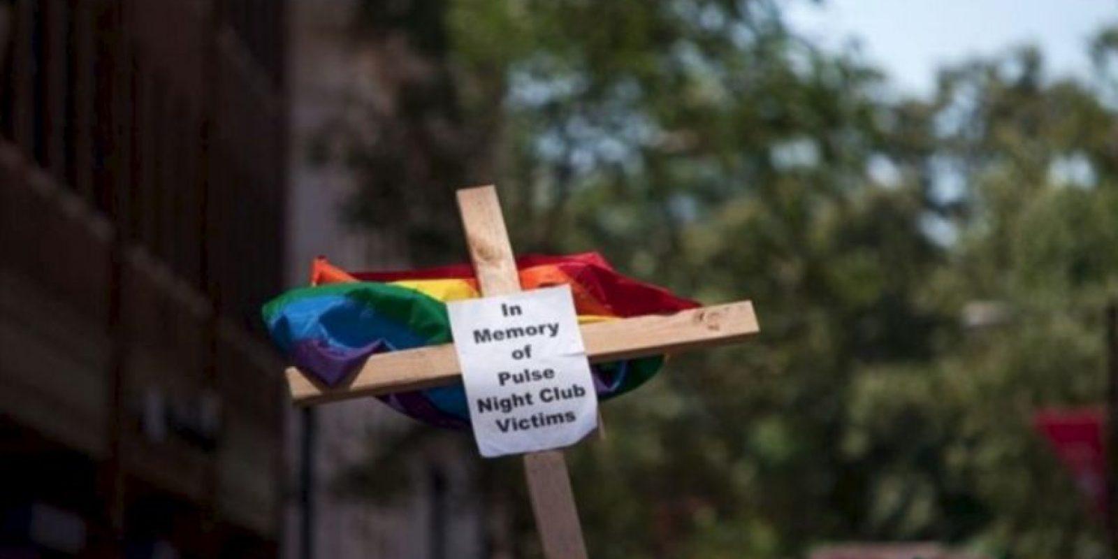 Aquí algunas imágenes del homenaje a las víctimas de Orlando Foto:Getty Images