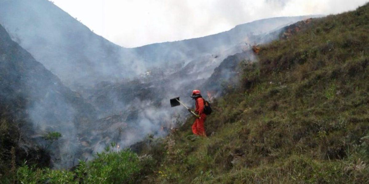 Incendio consumió 100 hectáreas en Loja