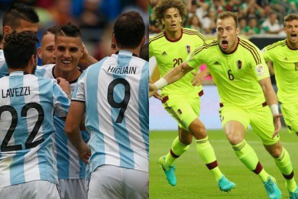 Copa América Centenario: En vivo Argentina vs Venezuela