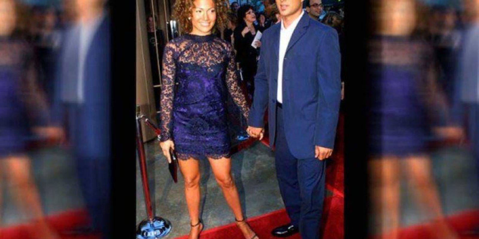 Esa infidelidad se dio estando casada aún con el bailarín Cris Judd Foto:Internet