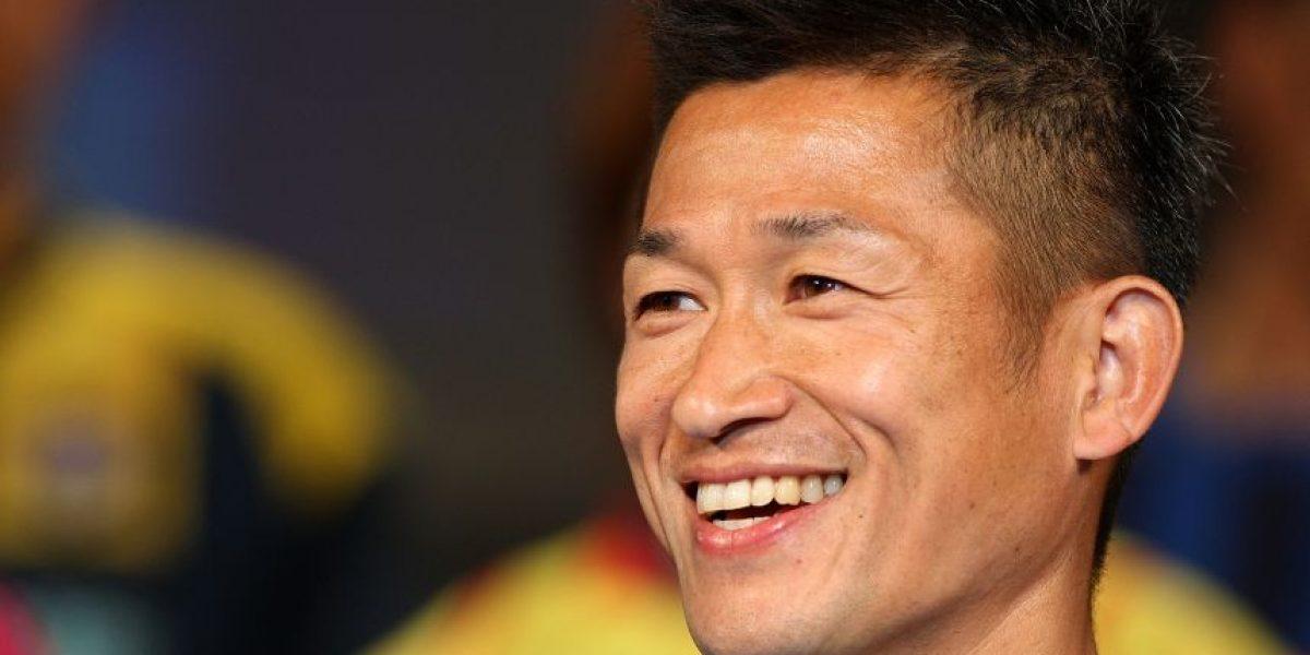 Kazuyoshi Miura es el futbolista más longevo del mundo