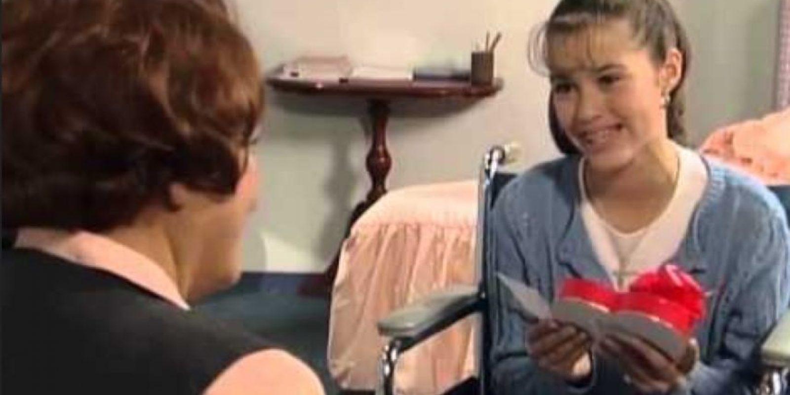 """Fue protagonizada por la pequeña """"Alicia Montalbán"""", la víctima de """"Soraya Montenegro"""" y su hijastra. Foto:vía Canal de las Estrellas"""