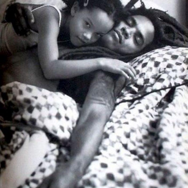Lenny Kravitz y su hija Zoe Foto:Instagram @LennyKravitz