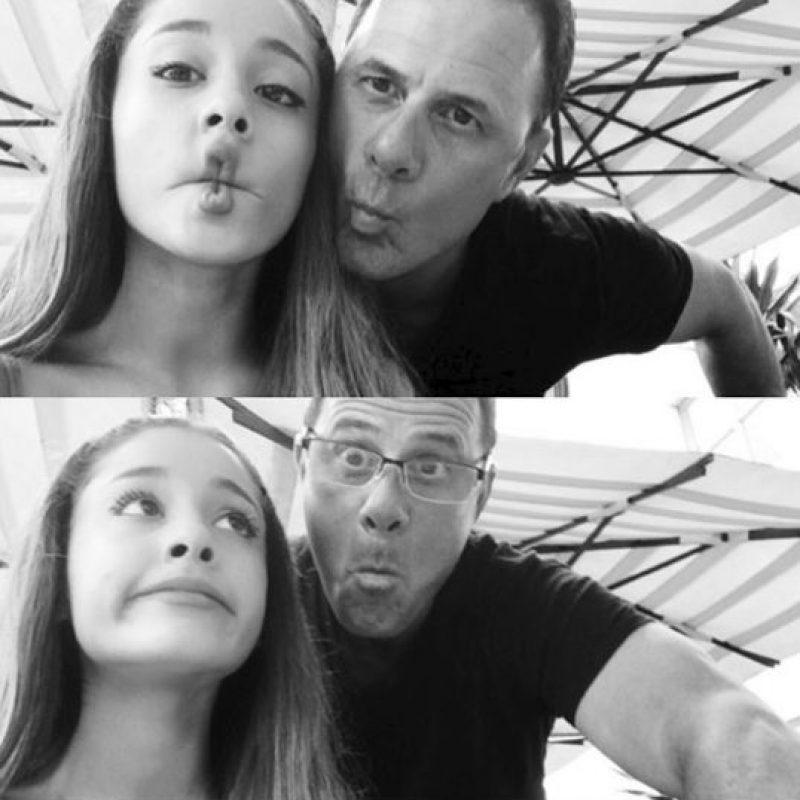 Ariana Grande celebró a su papá, Edward Butera. Foto:Instagram @Arianagrande