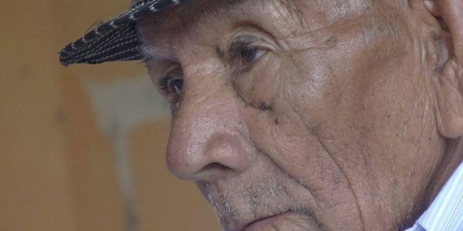 """""""Nachito"""" nació en enero de 1901 y vive en el cantón Catamayo, en la provincia andina de Loja (sur) Foto:Facebook: Que Pasa En Loja Ecuador"""