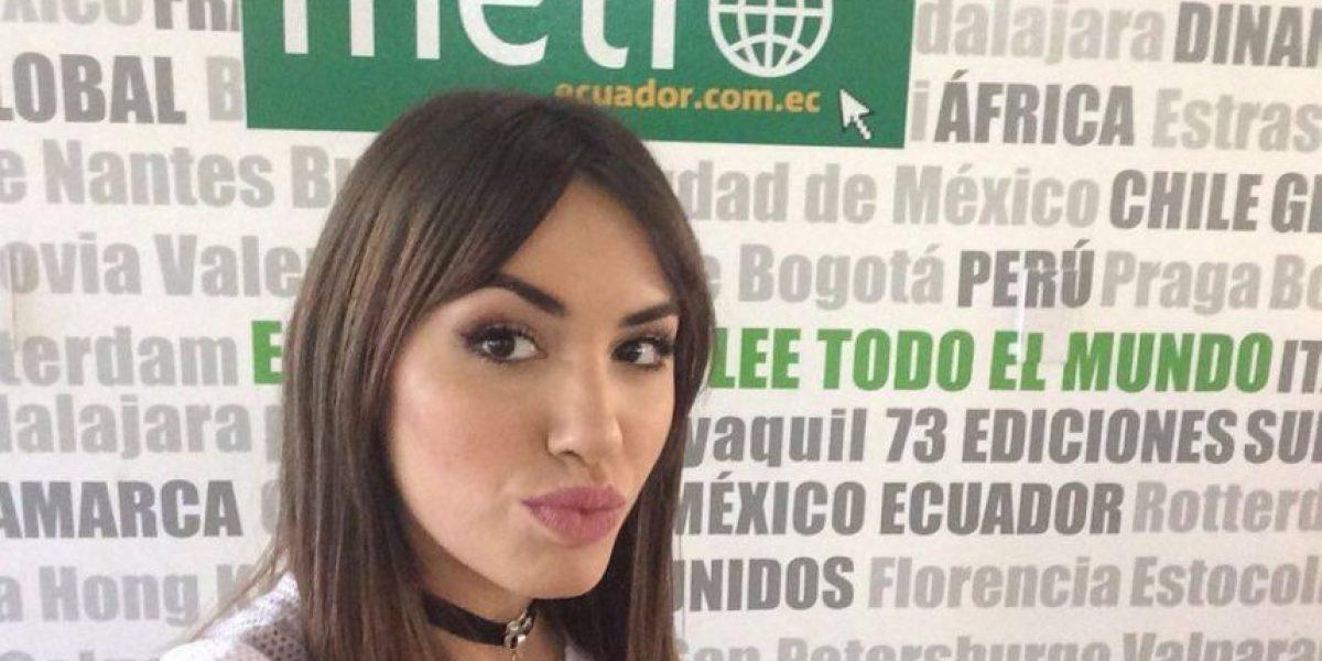 Lali Espósito visitó Ecuador promocionando