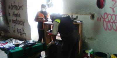 Detalles del operativo en El Trébol Foto:Cortesía