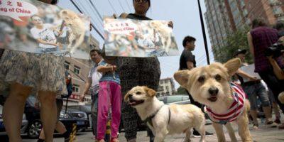 Hubo manifestaciones en contra del festival Foto:AP