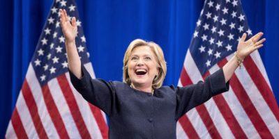 Por ahora no presenta problemas más que el escándalo de su época de Secretaria de Estado. Foto:Getty Images