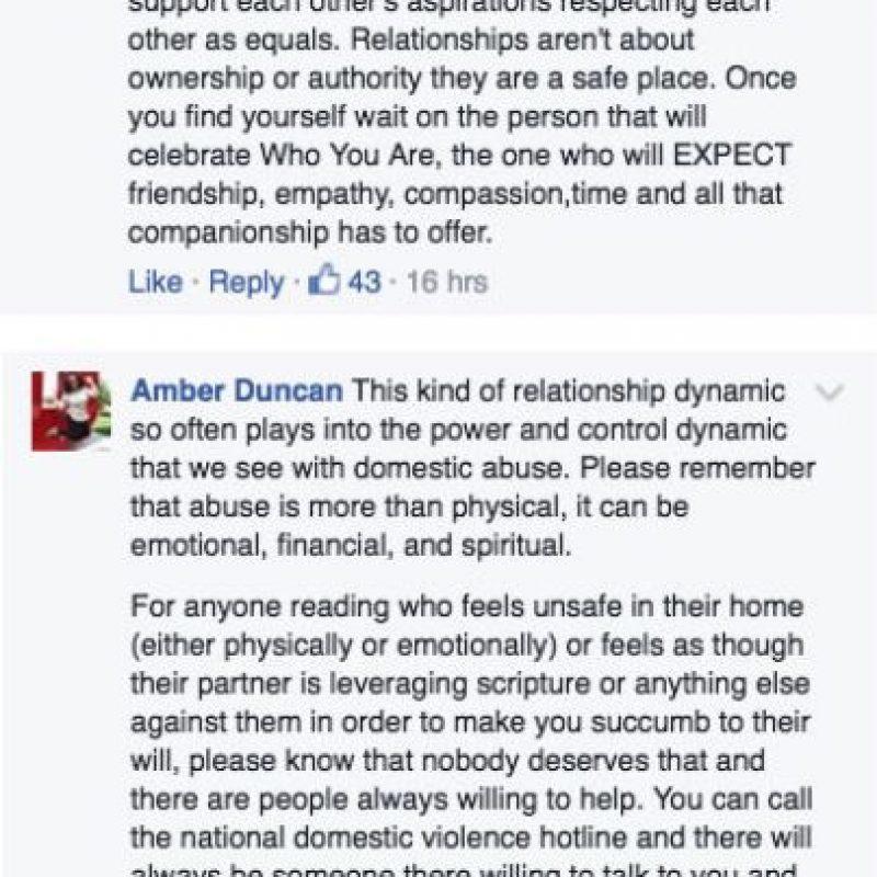 Estos son algunos de los comentarios hechos por hombres y mujeres. Foto:Facebook