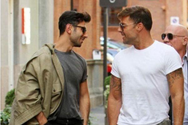 Ricky Martin y Jwan Jose juntos en Milán