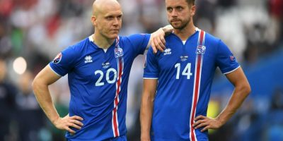 La debutante Islandia suma dos empates, ante Portugal y Hungría, en sus primeros dos partidos y se ilusionan con avanzar a octavos de final Foto:Getty Images