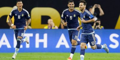 Messi busca el primer campeonato internacional con la Selección de Argentina Foto:Getty Images