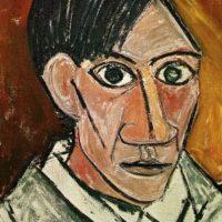 Picasso a comienzos del siglo XX. Foto:Wikipedia
