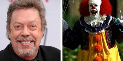 Tim Curry interpretó a Pennywise en 'La Cosa'