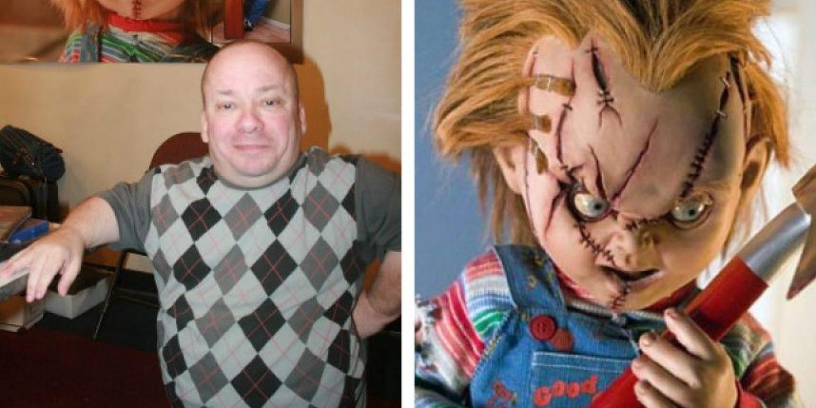 Ed Gale personificó a Chucky