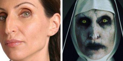 La actriz Bonnie Aarons como Valak en 'El Conjuro 2'