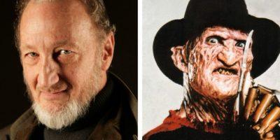 Robert Englund interpretó a Freddy Krueger en el filme 'Pesadilla en la Calle del Infierno'